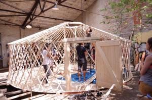 2016 - 05 - Bau Workshop Jurte